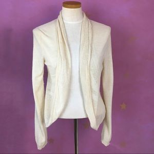 ANTHROPOLOGIE ANGEL OF THE NORTH WOOL CARDIGAN M
